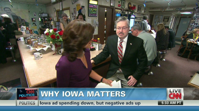 Iowa Gov. Branstad talks GOP candidates