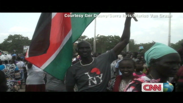 'Lost Boy' returns to South Sudan