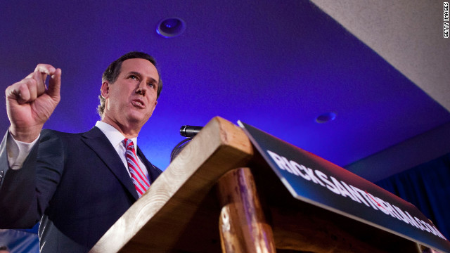 Former Sen. Rick Santorum's strong showing in Iowa doesn't guarantee him momentum in New Hampshire.