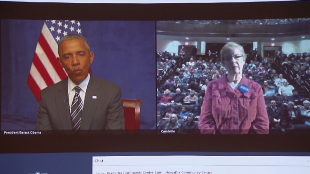 Obama to Iowans: 'I'm optimistic'
