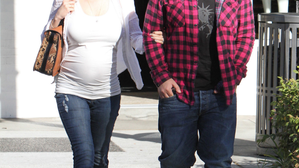 Jack Osbourne dines in Los Angeles with his fiancee Lisa Stelly.