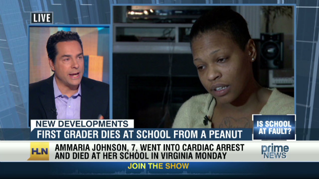 Girl with peanut allergy dies at school