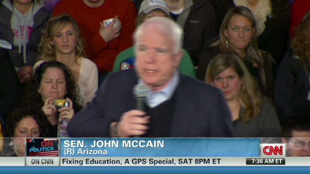 McCain on Romney endorsement