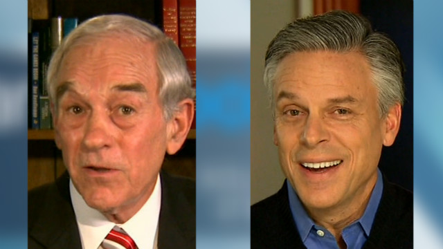 Jon Huntsman found Rep. Ron Paul's tweet to be pretty humorous.