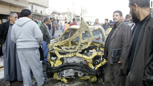 Suicide bombings kill scores in Iraq