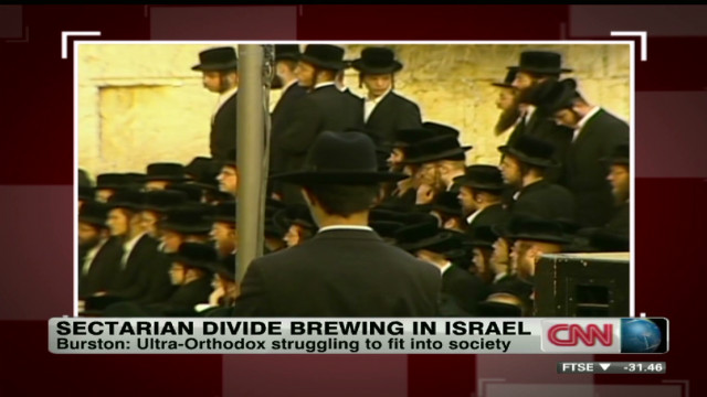 Sectarian divide brewing in Israel