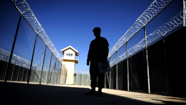 The U.S.-controlled Bagram prison in Afghanistan has faced allegations of human rights violations in the past.