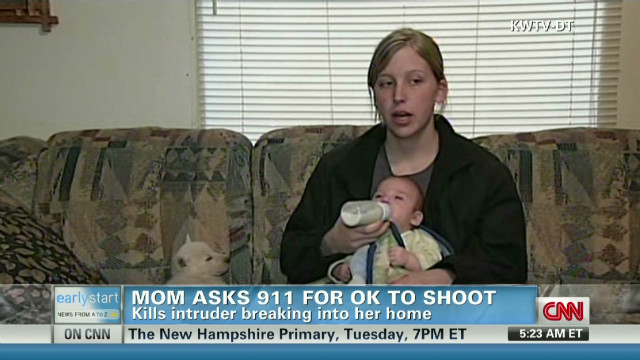 Mom asks 911 for permission to shoot