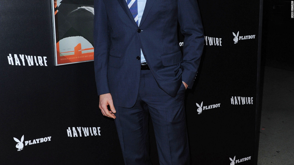 Matt Bomer attends a premiere in Los Angeles.