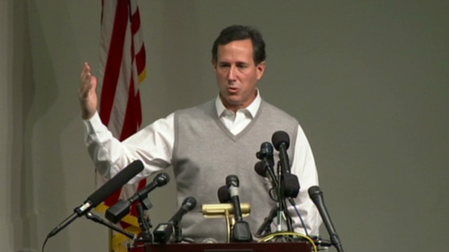 Santorum booed on same-sex marriage