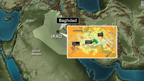 Small rockets land near Baghdad's heavily fortified Green Zone