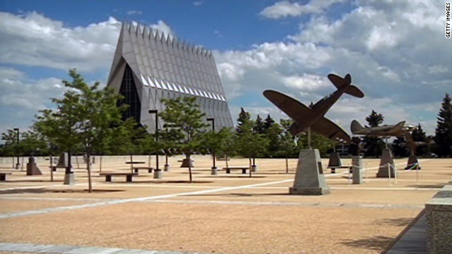 Three cadets from the Air Force Academy have been charged in unrelated sexual assault cases.