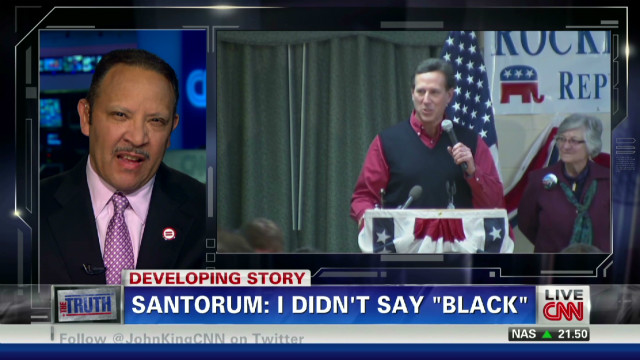 Morial: Santourm pandering to racists