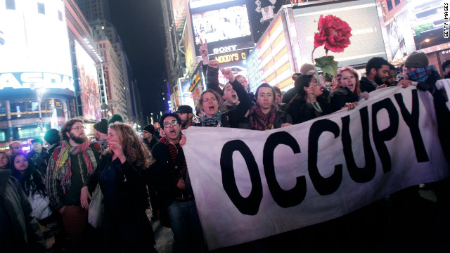 """Occupy"" is 2011's word of the year, winning a runoff vote by a whopping majority."