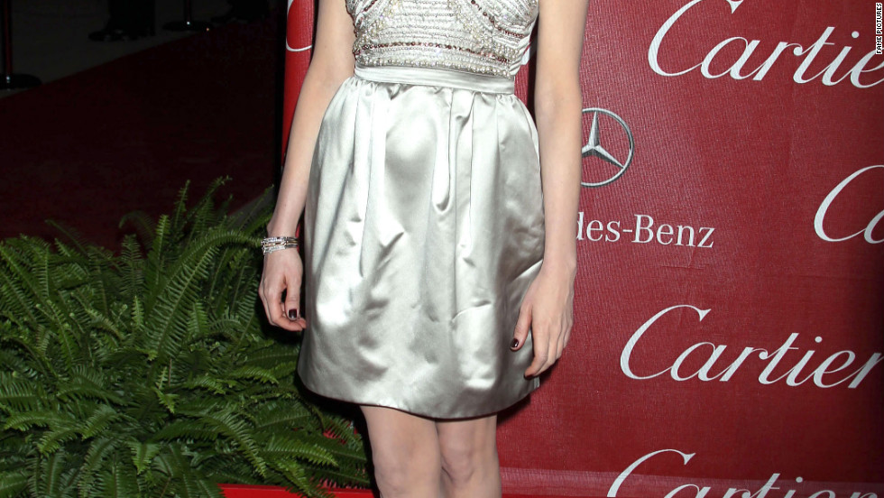 Michelle Williams attends the Palm Springs International Film Festival Awards Gala in Palm Springs.