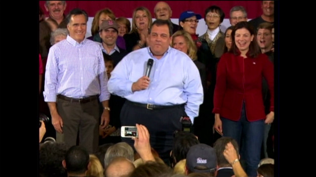 Christie takes on protesters