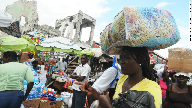 Martelly: Healing the wounds in Haiti