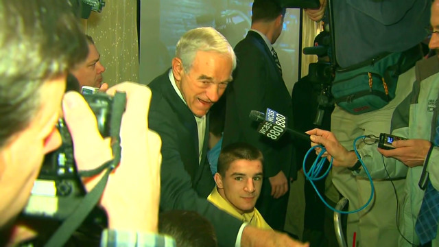 Ron Paul critical of media