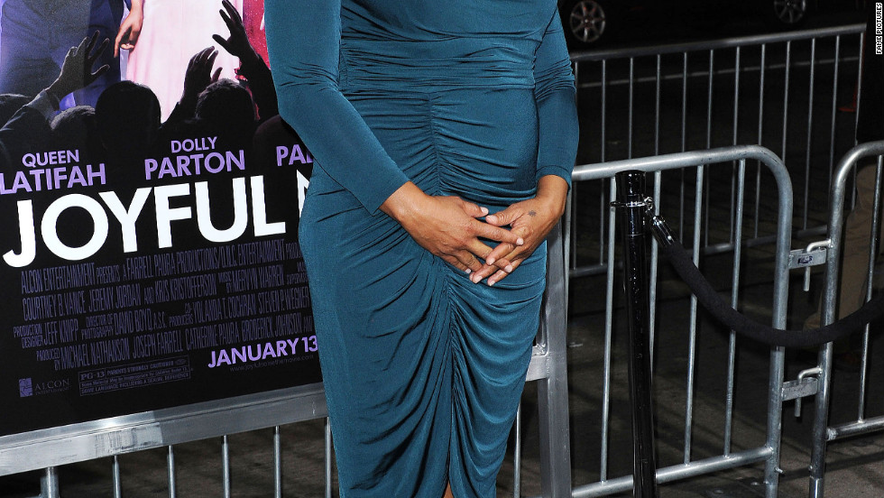 Queen Latifah attends a movie premiere in Los Angeles.