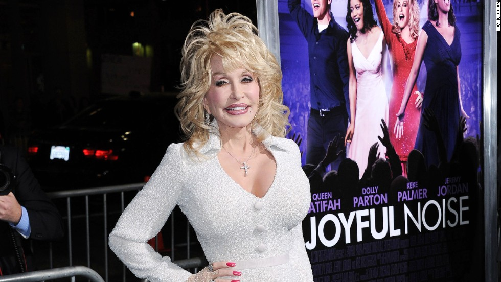 Dolly Parton attends a movie premiere in Los Angeles.