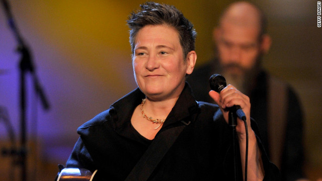 K.D. Lang filed for dissolution of domestic partnership with Jamie Price, citing irreconcilable differences.