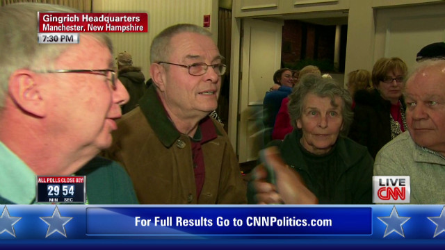New Hampshire voters reveal their picks