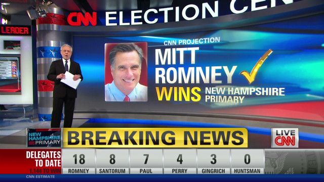 Early returns show big lead for Romney