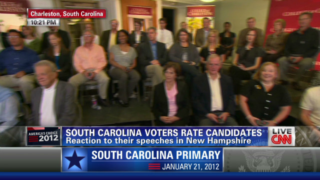 S.C. voters rate candidate speeches