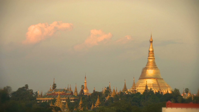 Tourists discover Myanmar