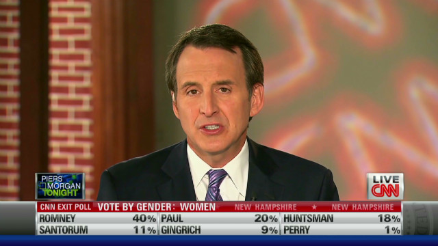 Tim Pawlenty on Romney's competition
