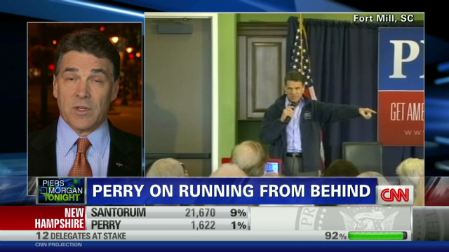 Perry: Romney doesn't have it in bag