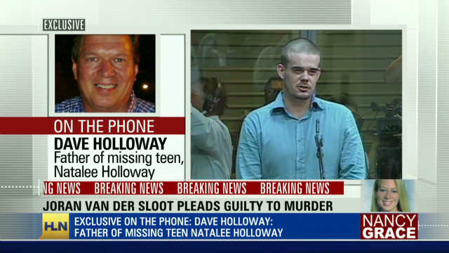 Holloway's dad talks guilty plea