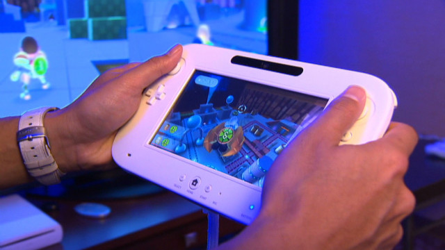 The Nintendo Wii U features a 6.2-inch handheld GamePad that serves as a second screen for games.