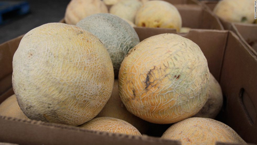 Cantaloupes tainted with salmonella infected more than 260 people across 24 states in October 2012. Three people in Kentucky died and 94 were hospitalized. Investigators determined Chamberlain Farms Produce Inc. of Owensville, Indiana, was the source of this outbreak.