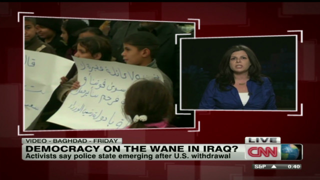 Democracy waning in Iraq?