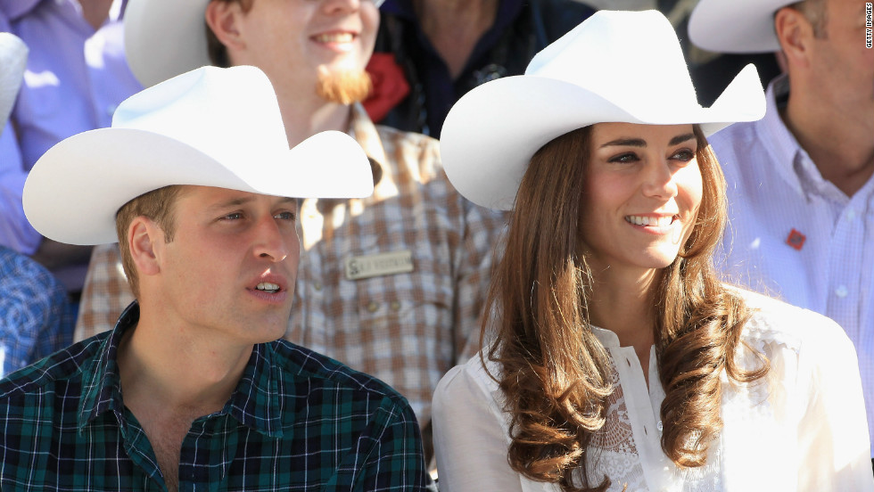 What do you give the couple who has everything? New lists published by the British royal family reveal the gifts given to its members during overseas tours. The Duke and Duchess of Cambridge were given cowboy hats on a visit to a rodeo in Canada.