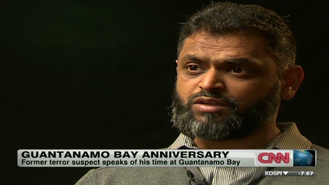 Former detainee recalls time at Gitmo