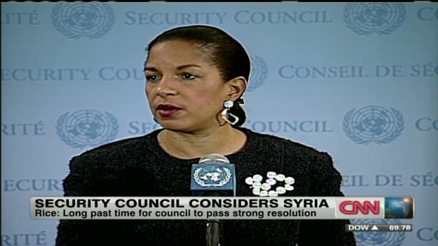 Security Council under pressure on Syria