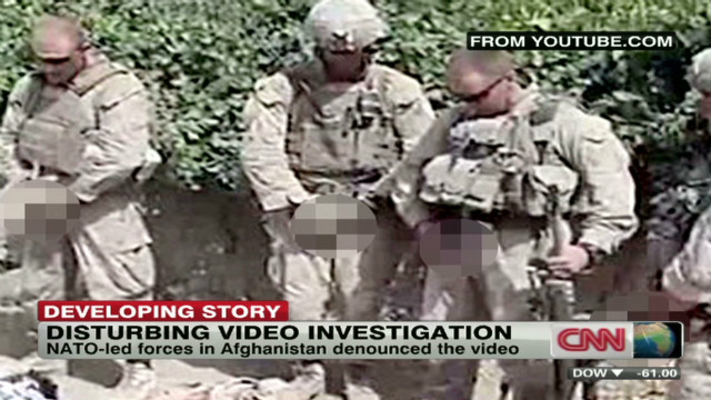 Outrage over Marine urination video