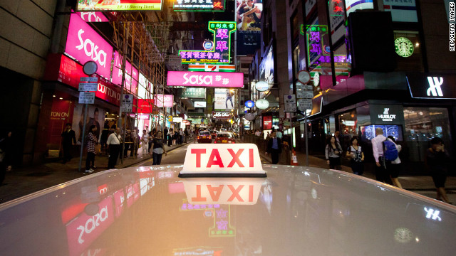 The honest taxi driver in Hong Kong could be denied the cash left behind by a forgetful passenger.