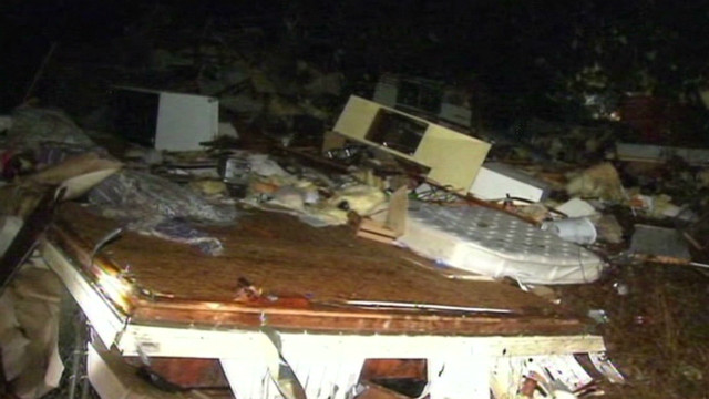 Possible tornado hits North Carolina