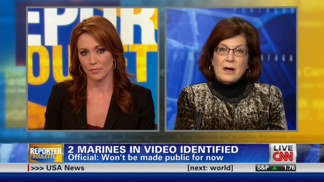 Marines in 'urinating' video identified