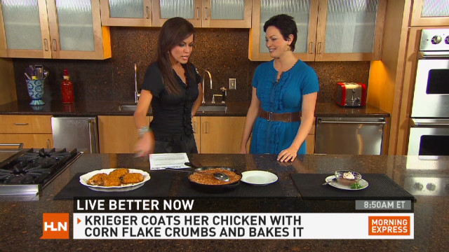 Chef Ellie Krieger fixes comfort food