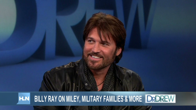 2012: Billy Ray Cyrus surprises troops