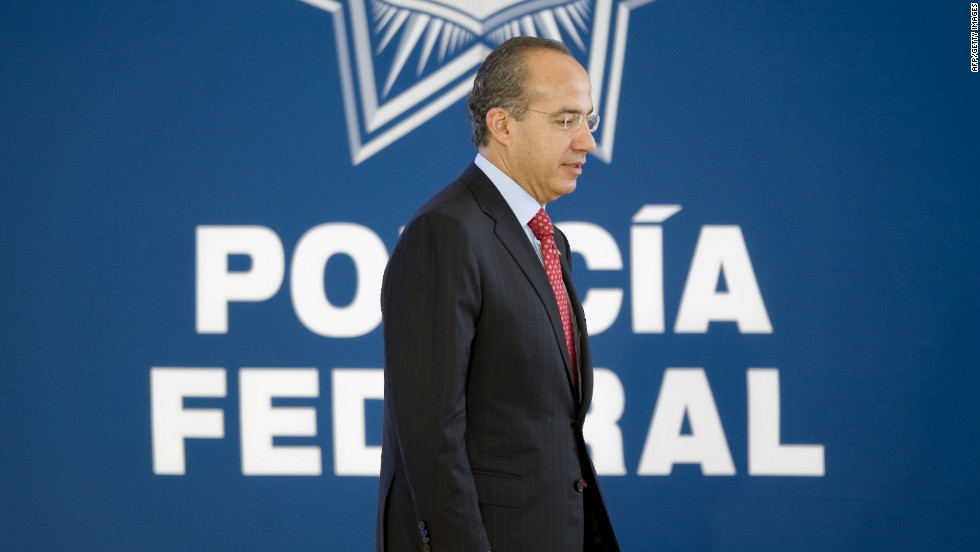After his election in 2006, President Felipe Calderon declared war on the cartels, sending the military out across the country and fired hundreds of corrupt police officers. Calderon's administration trumpets its successes, but the president is a lame duck. Term limits prohibit him from running again in 2012.