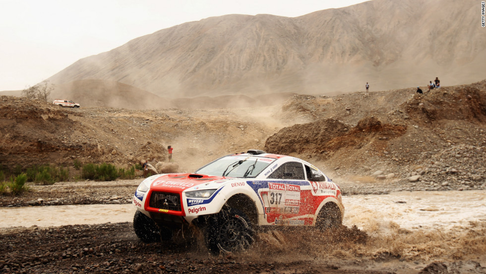 The Dakar Rally is one of motorsport's most grueling tests. The 9,000-kilometer marathon goes to Peru for the first time this year, in addition to blazing across Argentina and Chile.