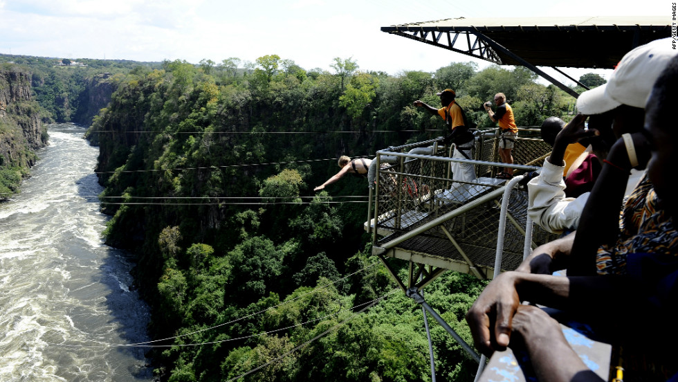 Victoria Falls Without The Bungee Jumping CNN Travel - Take the plunge 8 best places in the world to bungee jump