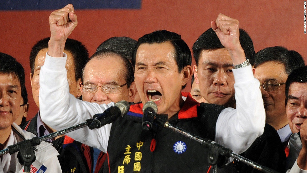 "At the beginning of the year, <strong>Taiwan</strong> re-elected President Ma Ying-jeou, a staunch advocate of the ""1992 Consensus"" that has led to an unprecedented <a href=""http://www.cnn.com/2012/01/14/world/asia/taiwan-elections/index.html"">warming of ties</a> between Taiwan and China."