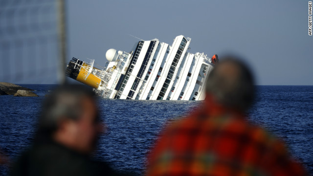 Witnesses talk about cruise ship accident