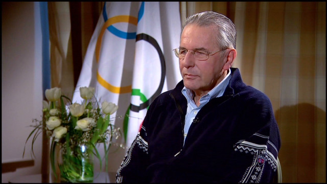 IOC chief discusses illegal betting